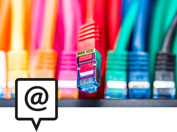 Leistungsbereich AKC Schwarz: Internet Services